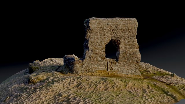 Dunnideer Castle 3D Model