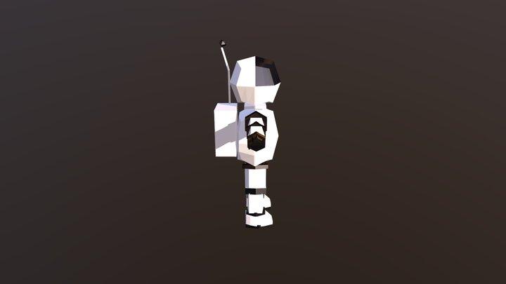Moonman 3D Model
