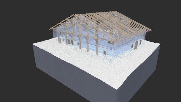 Chalet Privé - Megève 3D Model