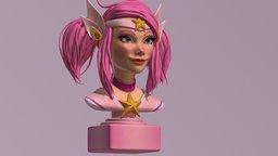 Star Guardian Lux - Fanart 3D Model