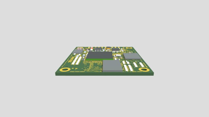 phyCORE-AM335x (PCM-051) 3D Model