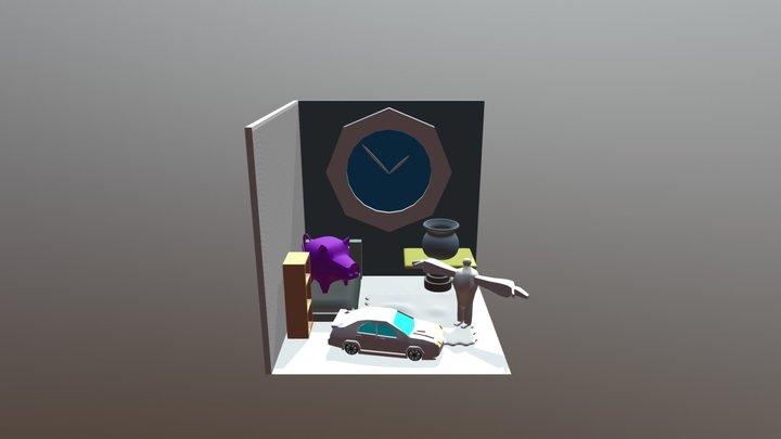 Hi 3D Model