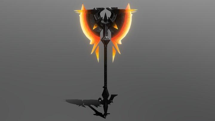 Fire axe FREE 3D Model