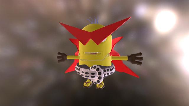 "Kamina Minion (aka ""Kaminion"") 3D Model"