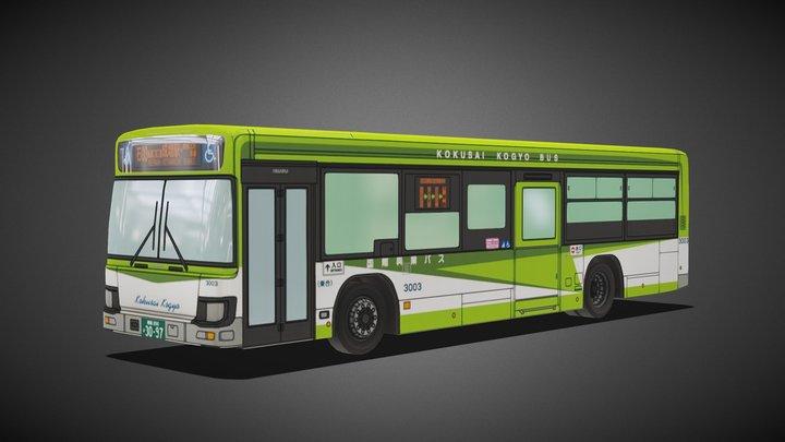 Isuzu Erga Mio bus 3D Model