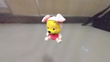 Winne The Pooh 3D Model
