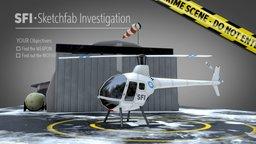 "Sketchfab Investigation: ""A cold death"" 3D Model"
