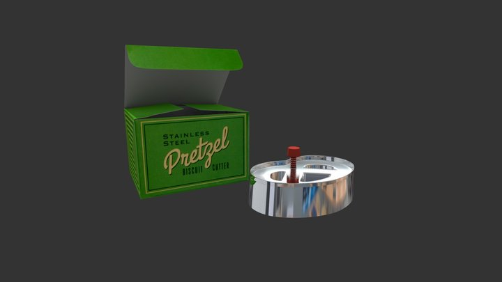 biscuit cutter 3D Model