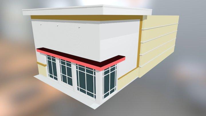 Commercial Building 3D Model