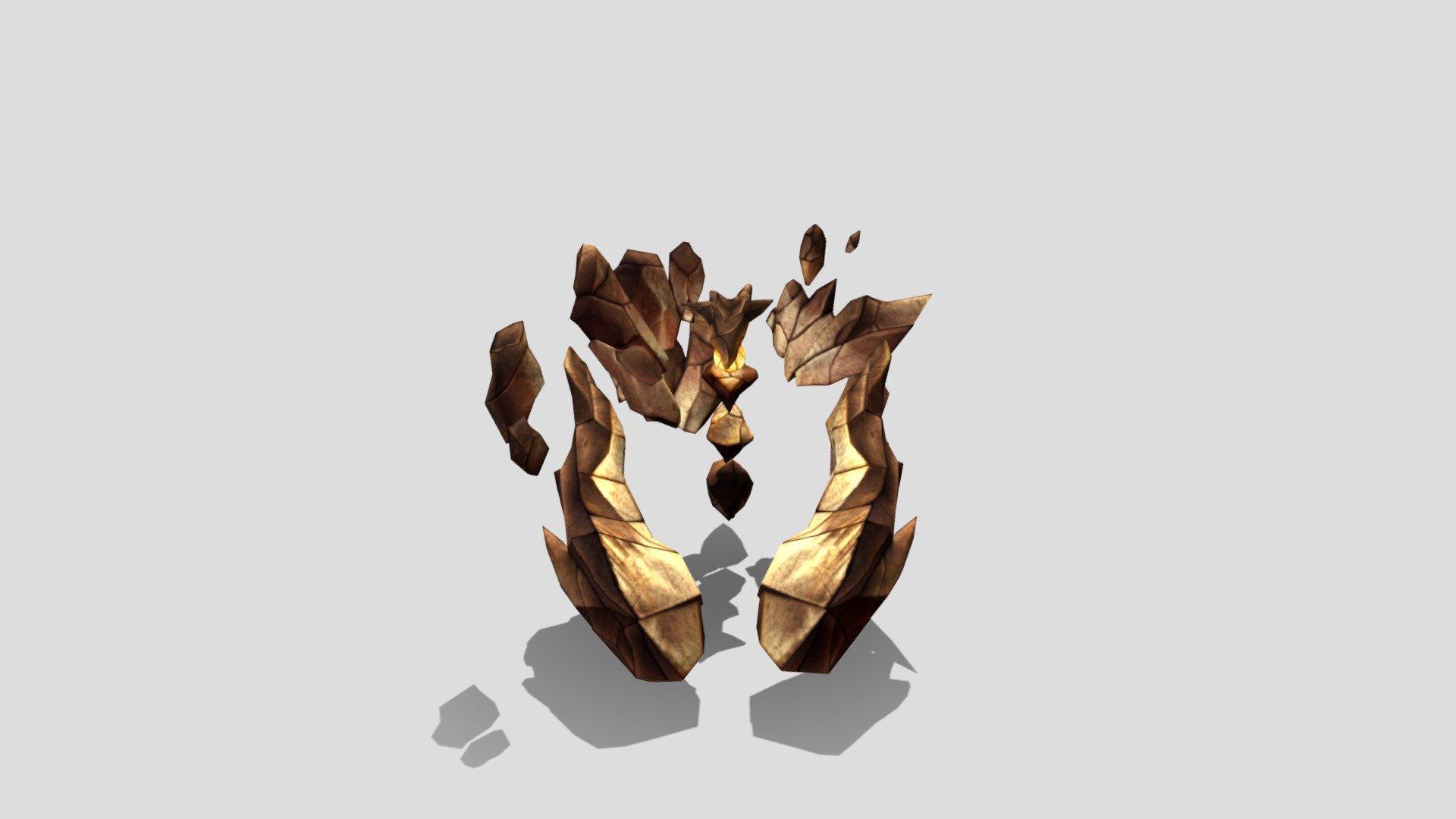 Stone Elemental - 3D model by TAKATUGU (@TAKATUGU) [051724f]