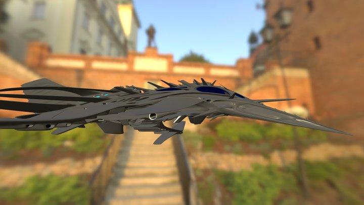Fuegan (Ferrous) Tiger Wasp 3D Model