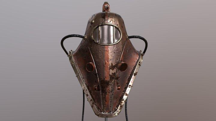 Big Daddy Helmet 3D Model