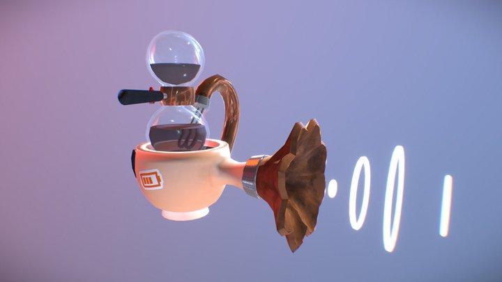 Espresso Gun! 3D Model