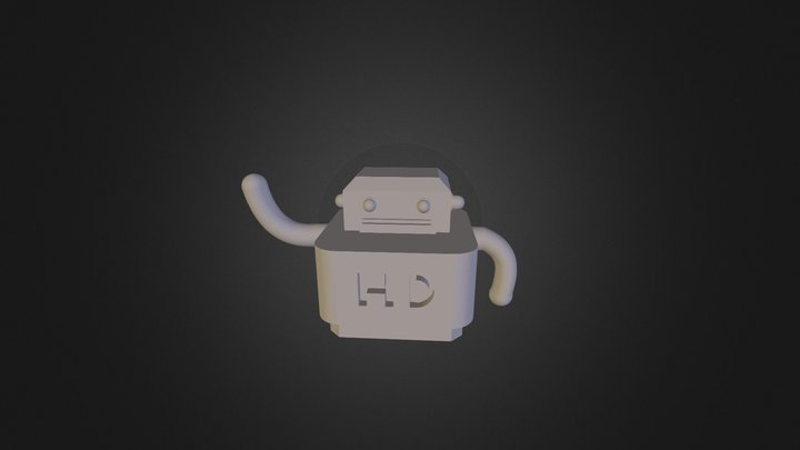 Harpinder Singh Minhas -ROBOT 3D Model