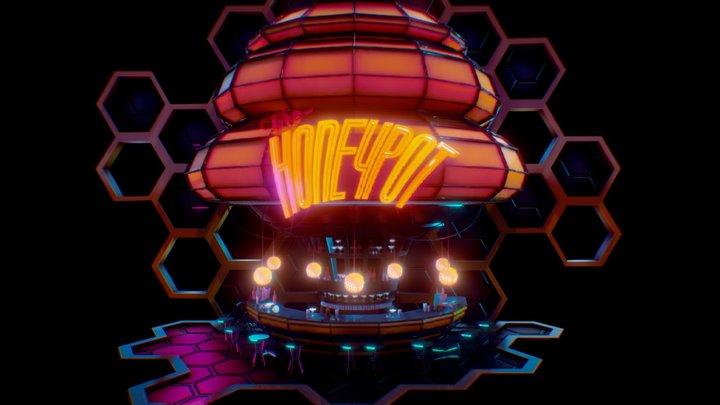 The Honeypot Bar 3D Model