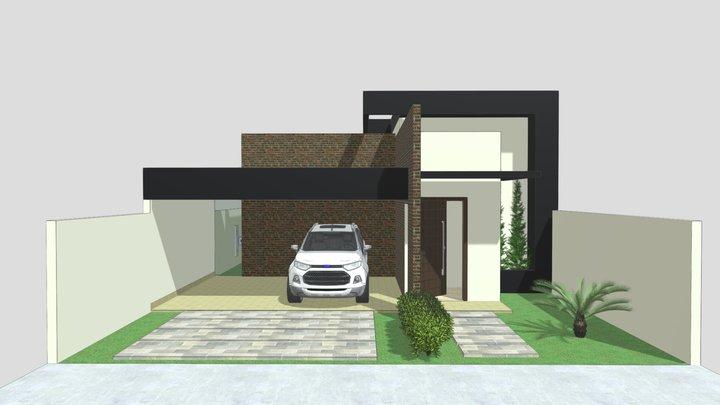 Proposta arquitetônica 03 3D Model