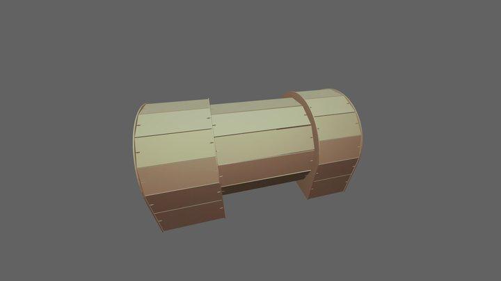 корпус паровоза Черепановых 3D Model