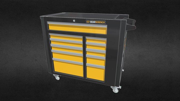Gearwrench MRO Cart 3D Model