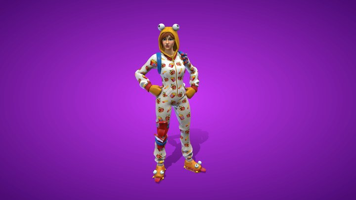 Onesie Outfit 3D Model