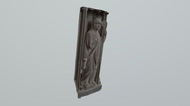 Lady1 3D Model