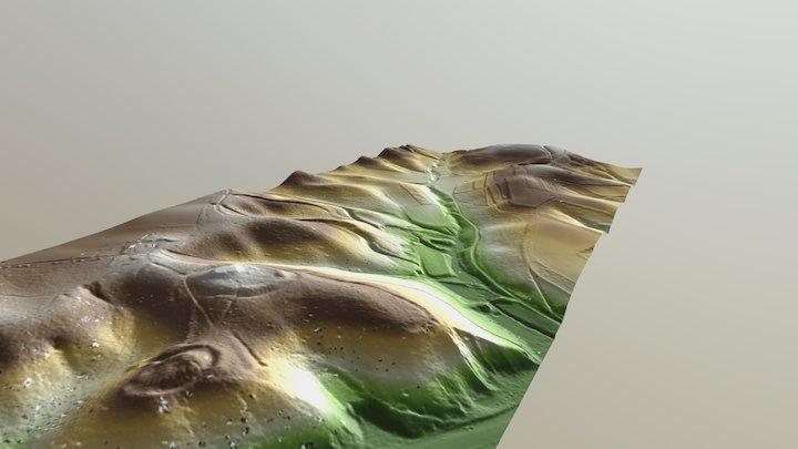 Two Strongholds - Berg en Dal (NL) 3D Model