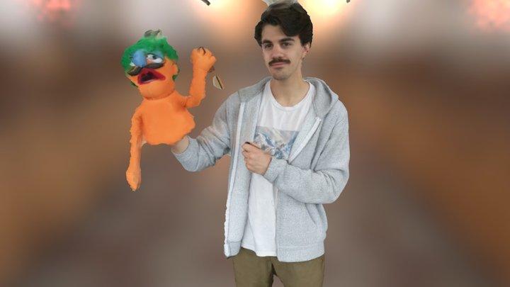 Theo-muppet 3D Model