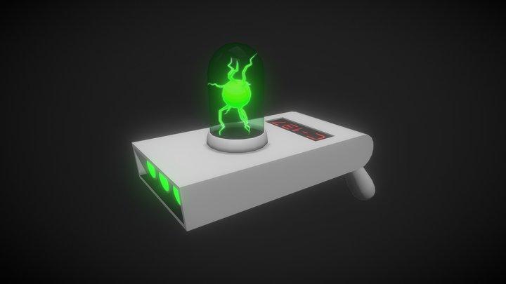 Rick's Portal Gun 3D Model