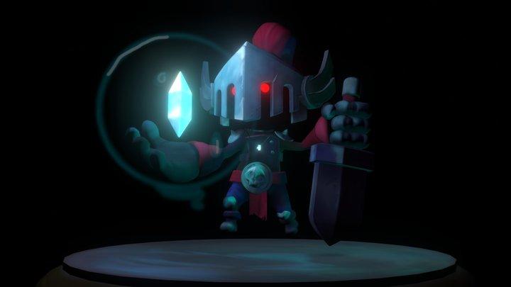 Stylized Knight 3D Model