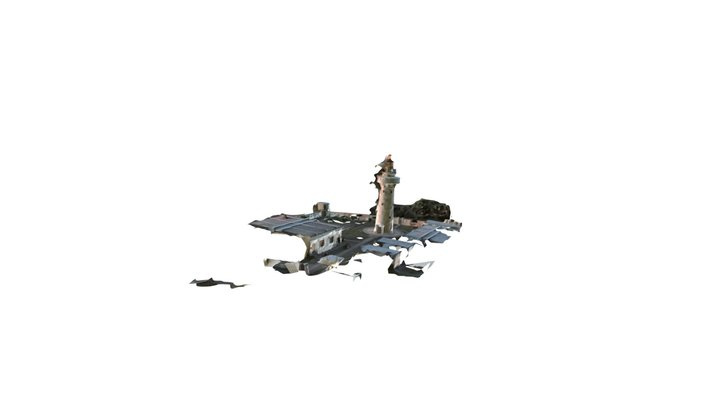 lighthouse_01 3D Model