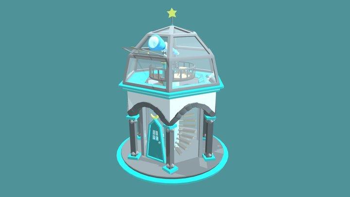 Little observatory ☽ 3D Model