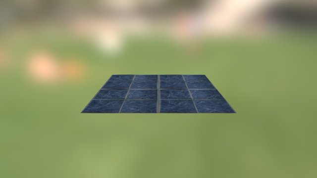 Test - Small tiles texture 3D Model
