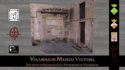 Porta lateral església SPV 3D Model