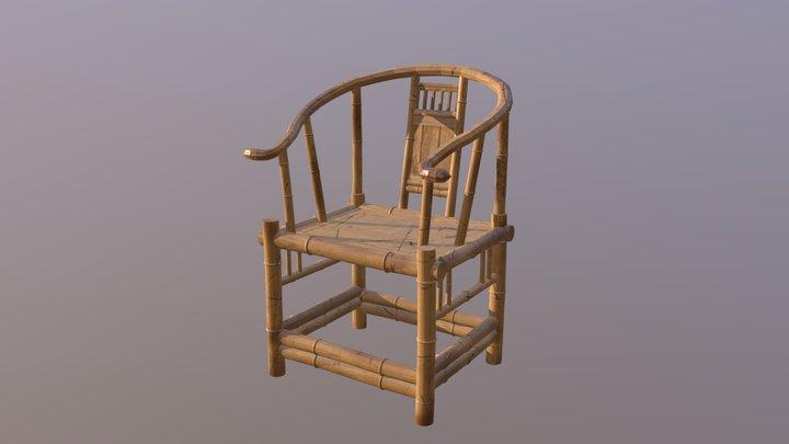 Bamboo Chair 3D Model