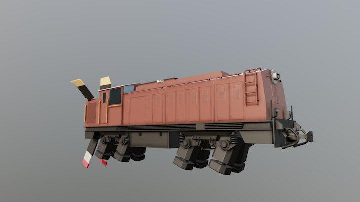 Locomotivka 3D Model