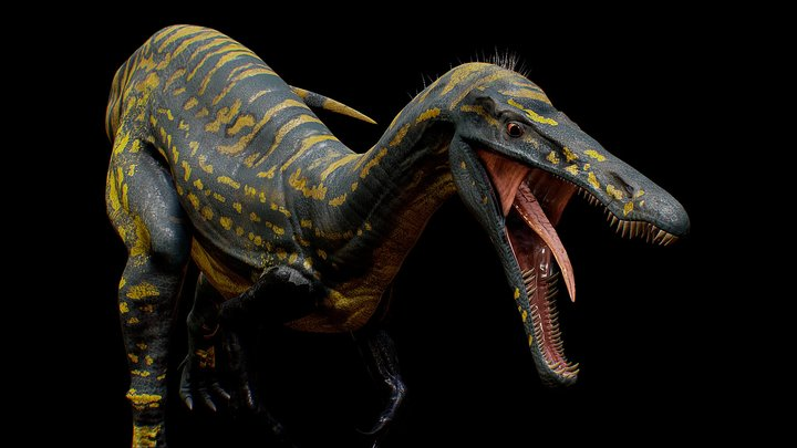 Suchomimus [ 4K textures Rigged ] 3D Model
