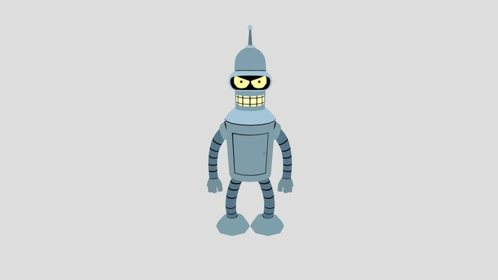 Bender Baby! 3D Model