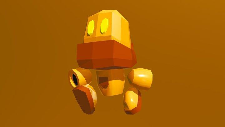 Vibut, the robot 3D Model