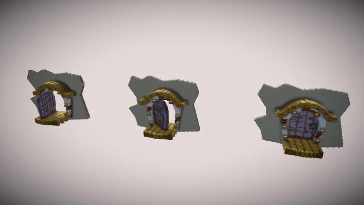 APPLICABLE DOORS-002 3D Model