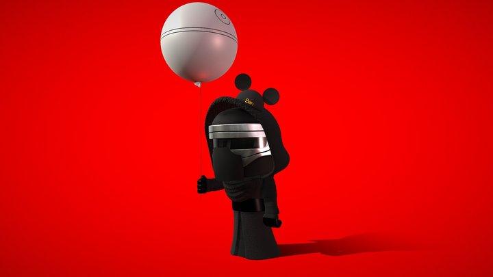 Lil Kylo 3D Model