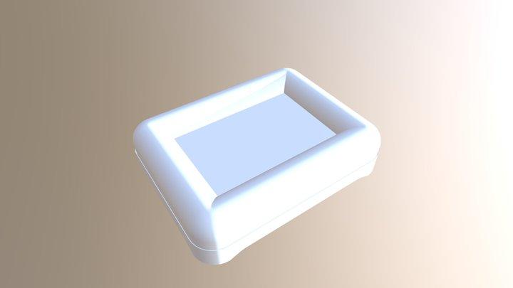 SMALL PET BED 3D Model