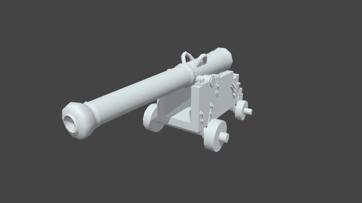 Fisher Ryan Cannon 3D Model
