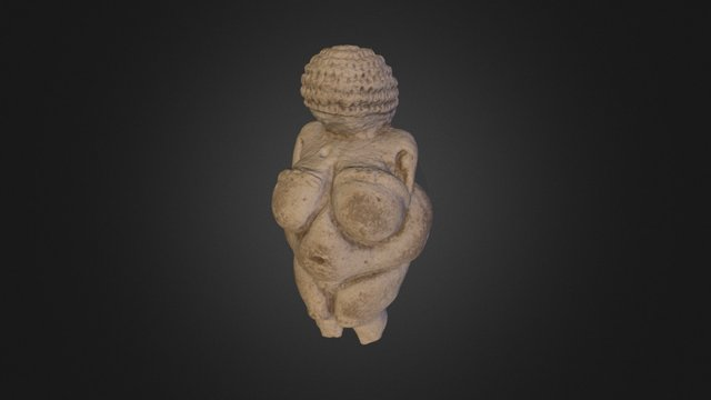 Venus of Willendorf 3D Model