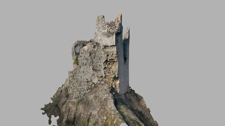 Château de Beauregard (Jura) 3D Model