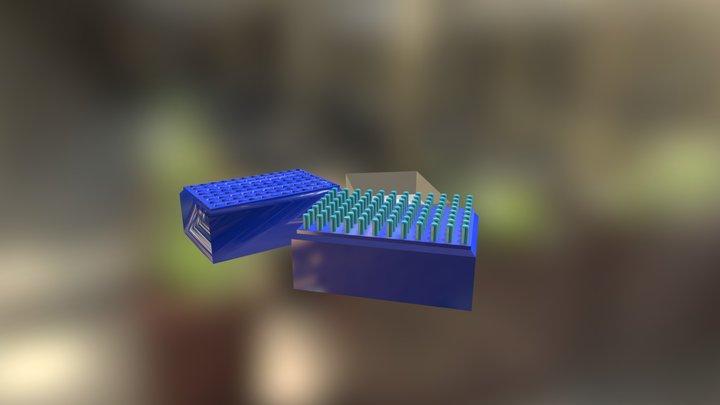Pipet Tip 3D Model