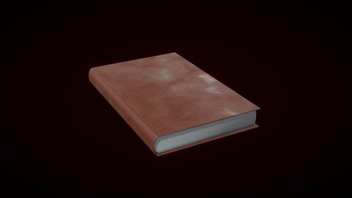 SIMPLE Book Prop [FREE] 3D Model