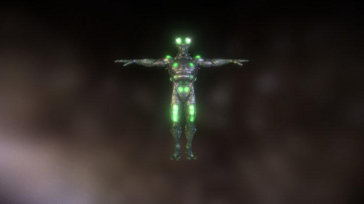 B S F S Alien A V T 3D Model