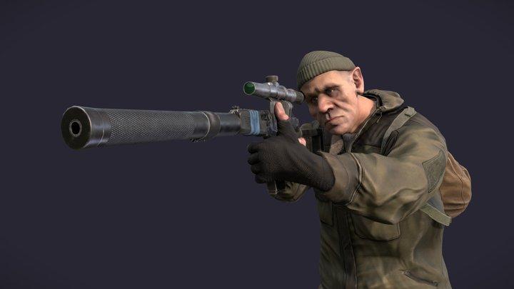 Military vagabond 3D Model