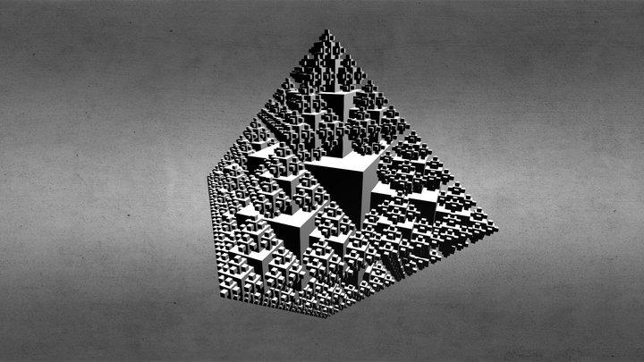 Fractal 01 3D Model