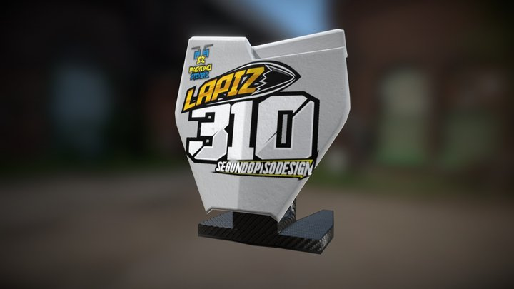 Front Plate310 3D Model