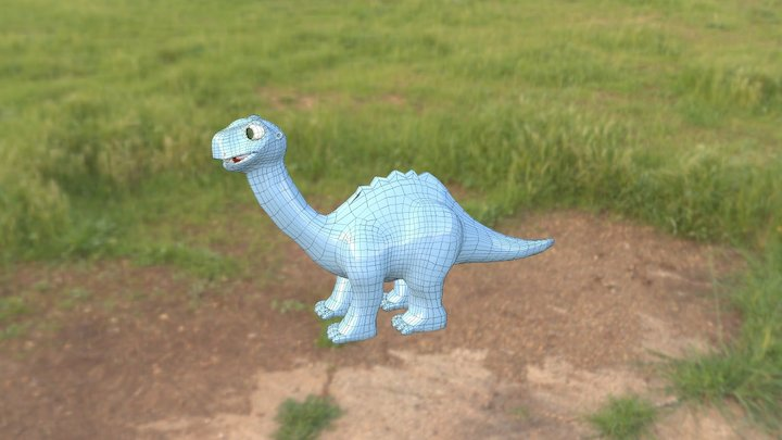 Thunder Foot 3D Model
